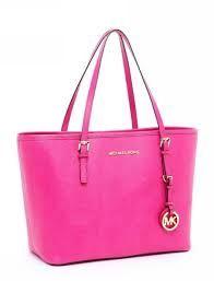 FREE SHIPPING MK Michael Kors Jet Set Bag, Pink | EmeseBoutique - Bags & Purses on ArtFire
