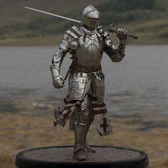 Knight, Male Warrior, Soldier