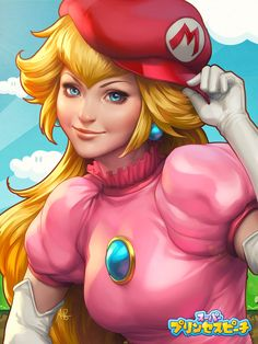 Princess Peach - Stanley Lau