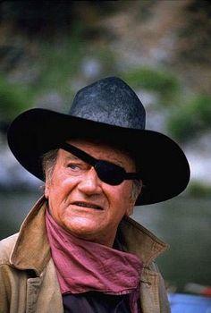 John Wayne in Rooster Cogburn (we love True Grit) Iconic Movies, Old Movies, John Wayne Movies, Actor John, Hero Movie, True Grit, Western Movies, Special People, Old Hollywood