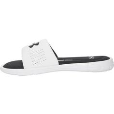Under Armour Men's Ignite V Sports Slides (White/Black, Size 13) - Soccer  Slides Shoes at Academy Sports