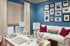 This reminds me of Carrie's apartment makeover in the Sex and the City movie...love it