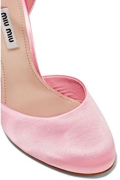 f780c6a32cf3bb Heel measures approximately 105mm  4 inches Baby-pink satin  Buckle-fastening ankle strap