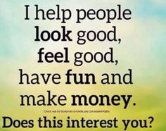 Ask me how you can too :)