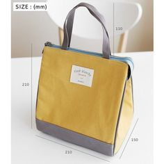 Size of Cooler lunch bag ver.2