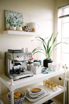 Artfully Arranging Your Cup of Joe: Separate Morning Coffee Areas — Kitchen Inspiration