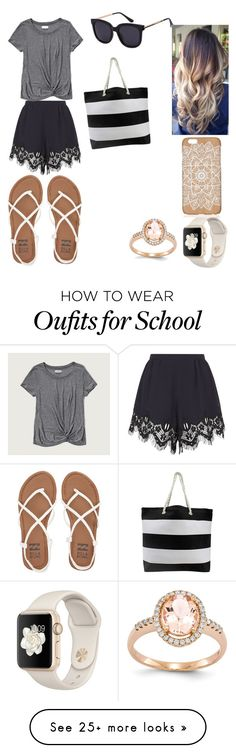 """Out of School Look"" by allycat3474 on Polyvore featuring Chloé, Abercrombie & Fitch and Billabong"
