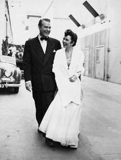 Red Skelton and Kathryn Grayson on the set of Lovely To Look At.