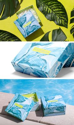 Birchbox Limited Edition Under the Sun Box on Behance