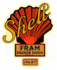 Oil Filter Decal Shell / Fram | CoupeCustoms.com