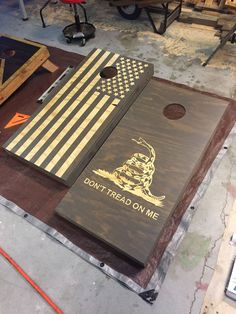 boards 67 Inspired Cornhole Board Plans That Will Amp Up Your Summer Cornhole Board Dimensions, Cornhole Board Plans, Custom Cornhole Boards, Cornhole Set, Cornhole Board Decals, Diy Wood Projects, Fun Projects, Wood Crafts, Washer Boards