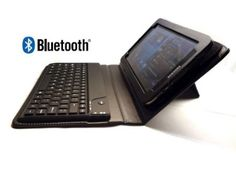 GSAstore ™ New Model Bluetooth ® Keyboard and Case for Samsung GALAXY Tab 2 (Model: P3113) - Color: Black Computer Security, Bluetooth Keyboard, New Model, Samsung Galaxy, Phone, Color Black, Telephone, Phones