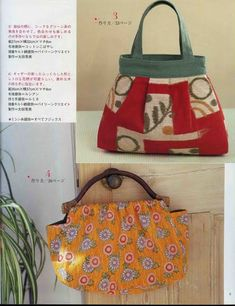some patterns to sew fashion handbag - crafts ideas - crafts for kids