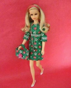 Cute Francie doll. 60s