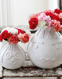 Textured Vase DIY.