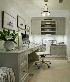 20 Home Office Designs for Small Spaces   Small office spaces, Small ...
