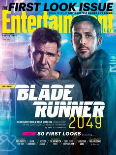 Blade Runner 2049on the Cover ofEntertainment Weekly