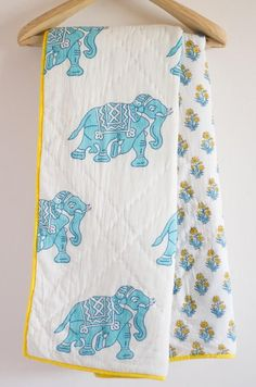 Hey, I found this really awesome Etsy listing at https://www.etsy.com/listing/519012059/horton-baby-quilt-block-print-quilt-baby