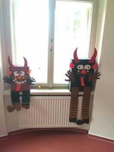 Diy And Crafts, Arts And Crafts, Paper Crafts, Winter Wedding Decorations, Christmas Decorations, Diy For Kids, Crafts For Kids, St Nicholas Day, Ange Demon