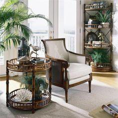 Este look evoca aventuras, por eso los objetos inspirados en decoraciones típicas de cada zona, como jarrones o en artesanías africanas o asiáticas y las pieles sintéticas que imiten a las de animales, aportarán mucho.