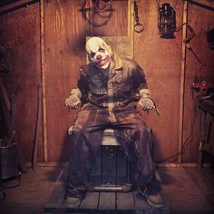 GRIN, grin the creepy clown   Flickr - Photo Sharing!