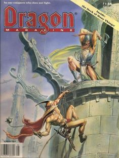 Dragon magazine #148 ~ TSR (August, 1989) This issue contained a card insert of the Deck of Many Things, which is frequently missing from secondhand copies.