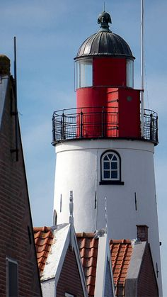 "Lighthaus from Urk,a little village at ""het IJselmeer"""