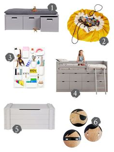 mr fox: how to clear the clutter – clever storage for kids