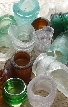 sea glass bottle nec