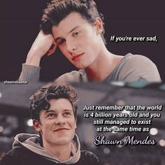Good way to get rid of your sadness Shawn Mendes Quotes, Shawn Mendes Imagines, Crying Meme, Carter Reynolds, Brent Rivera, Emo Guys, Shawn Mendez, Mendes Army, Big Sean