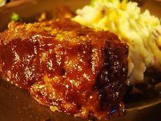Bayou Bourbon and Bacon Meatloaf...comfort food!