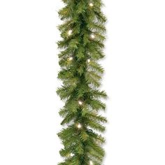 Three Posts Pre-Lit Garland with 50 Battery-Operated Lights Color: Warm White