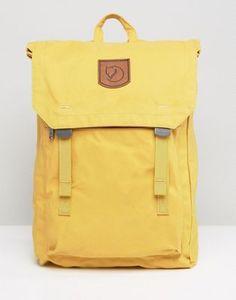 Mochila amarilla de 16 l Foldsack No. 1 de Fjallraven