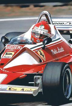 Niki Lauda, Ferrari - thanks to stupid Daniel Bruhl, I now am obsessed with learning everything about Formula 1 and Niki Lauda - i bought AUTOSPORT magaziine for God's sakes!