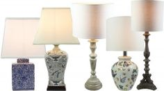 Buy One, Get One FREE on Table Lamps