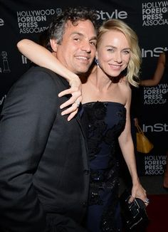Mark Ruffalo and Naomi Watts attends the Hollywood Foreign Press Association and InStyle party at the Windsor Arms Hotel during the Toronto International Film Festival on Sept. 6, 2014.