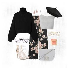 """""""Sweet floral"""" by lise-sorensen on Polyvore featuring Rosamosario, Diesel, Topshop, Carvela, M&Co, Lizzie Fortunato, Charlotte Russe and Too Faced Cosmetics"""