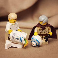 LEGO : Les personnages de Star Wars comme vous ne les avez jamais vus ! |