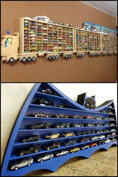 8 awesome Hot Wheels display ideas that toy car collectors will love!