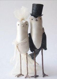 Pombinhos noivos...