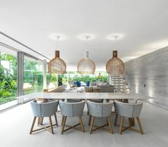 Summer Air | White House by studio mk27  Featuring Secto Design Pendant Lights and Gervasoni 1882  Gray Furniture Collection. Available at Sanctuary Niseko.