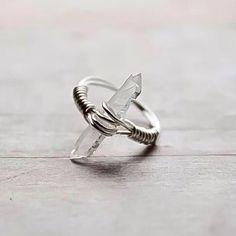 Image of Raw Quartz Ring [MS06]