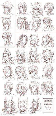 Different Hair