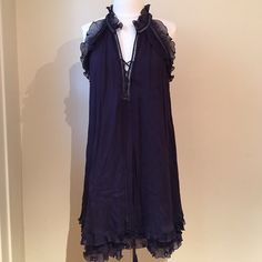 Rebecca Taylor dark purple dress Worn once. In great condition. Fits up to a size 4. Price firm. Rebecca Taylor Dresses
