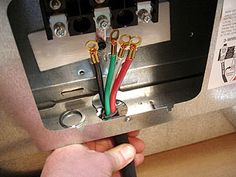 Stove Wiring, Installing A Range Outlet, RecessedStyle 50