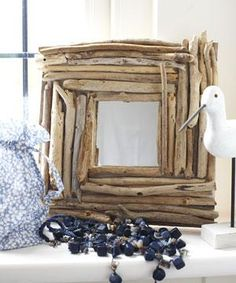 driftwood mirrorwould look great in a cabin or in a rustic setting sticks stones pinterest beautiful cabin and horses