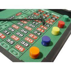Mini mesa casino com roleta.-R$94.81
