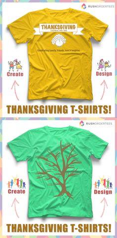 5cc7e2d5 19 Best Thanksgiving T-Shirt Designs images | Custom made t shirts ...
