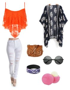 """""""summer look"""" by breanna786 ❤ liked on Polyvore"""