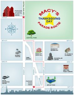 5 tips for being at the Macy's Thanksgiving Day Parade :) :) :) It's happening folks, it's going to be epic.